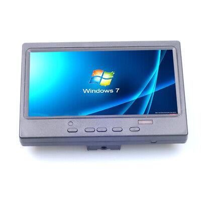 Portable Mini 7Inch HDMI VGA Display 1024x600 LCD Screen Car Rearview TV