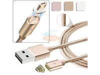 Usb data cable magnetic