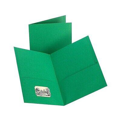 Staples 2-pocket Folder Green 905663