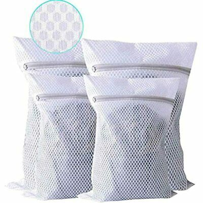 Extra Large Heavy Duty Mesh Laundry Bag, Pack Of 4 Delicates Net Bags For Dryer