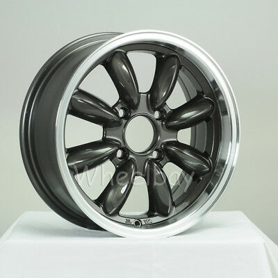 ON SALE 4 ROTA RB WHEELS 15X6 4X95.25 25 RGM TR7 TR8 SPITFIRE GT6 EUROPA 13.4LBS