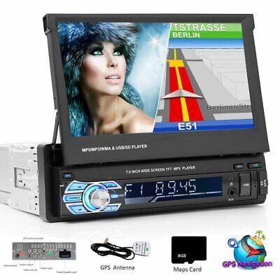 7 Zoll Autoradio 1 DIN mit Navi GPS USB MP5 Player TOUCHSCREEN & 8G MAP KATER DE (Autoradio 7 Zoll Touchscreen)