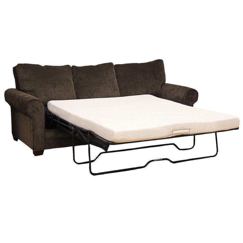 Sleeper Sofa Bed Memory Foam Replacement 4.5-Inch Twin Mattr