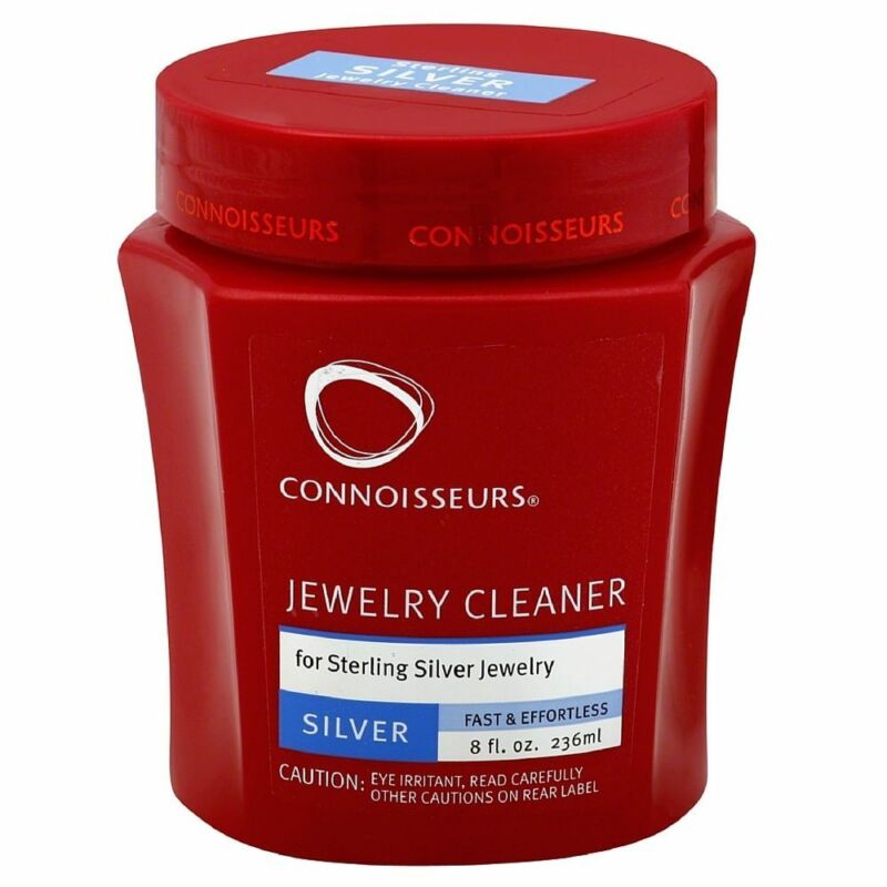 Connoisseurs Jewelry Cleaner for Silver Removes Tarnish and Grime 8oz Silver Dip