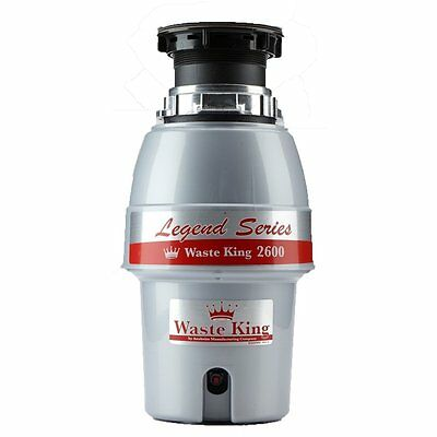Waste King L-2600 Garbage Disposal Legend Series 1/2 Horsepower Continuous-Feed