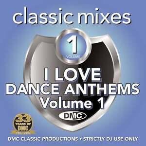 DMC Classic Mixes - I LOVE Dance Anthems Vol 1 Megamixes & Remixes Music DJ CD