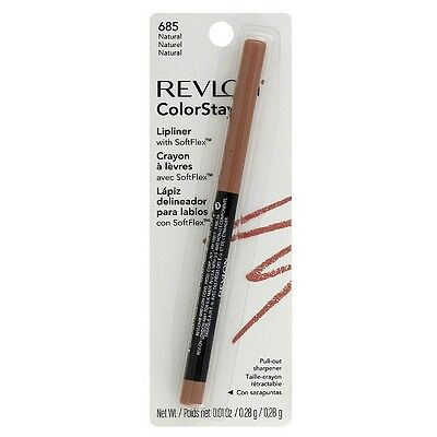 Revlon ColorStay Lip Liner with SoftFlex, Natural  1 ea