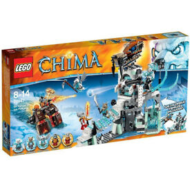 LEGO Legends of Chima Fangar's Ice Fortress 70147 Brand New Factory Sealed Retired Now Discontinued