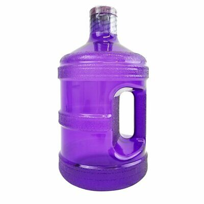 1 Gallon Leak Proof Big Mouth BPA Free Reusable Water Bottle - With Dark Purple, used for sale  Shipping to Canada