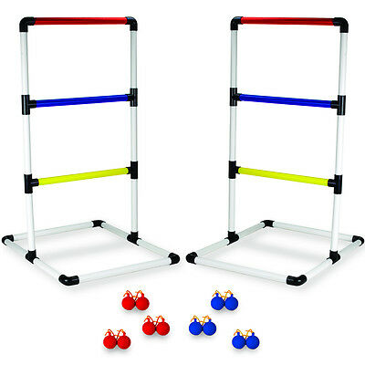 Ladderball Toss Indoor/Outdoor Set with Carry Case Sports Backyard Tailgate Game (Ladderball Game)
