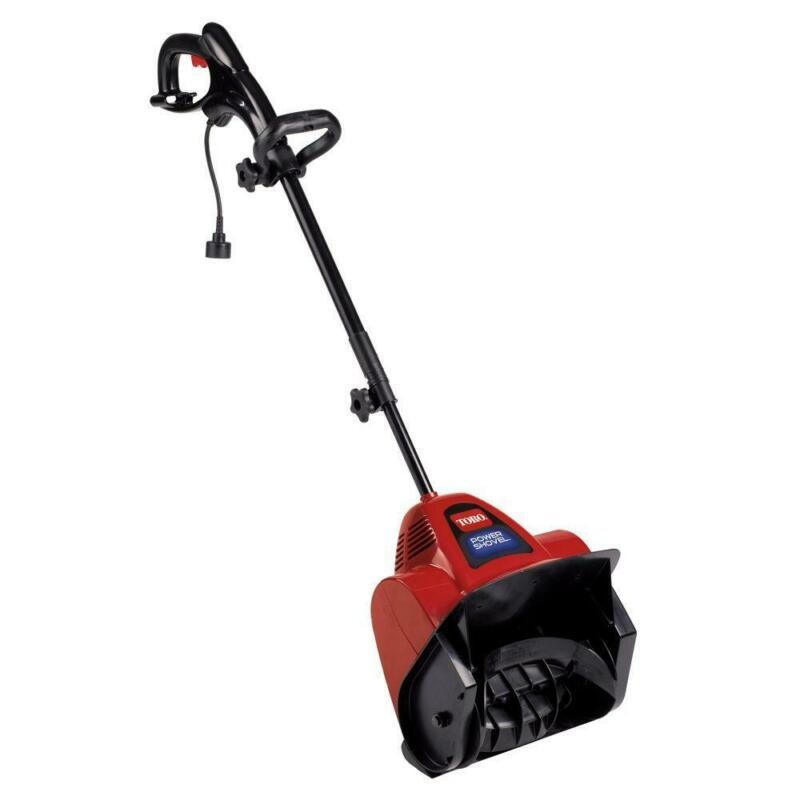 snow blower electric power shovel lightweight telescoping
