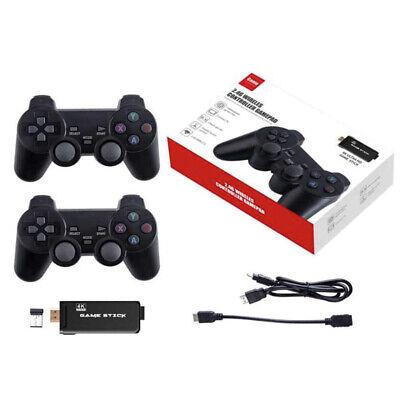 Consola Retro de Juegos Portatil Videojuegos 4k 2 Mandos 2.4g Arcade 3000...