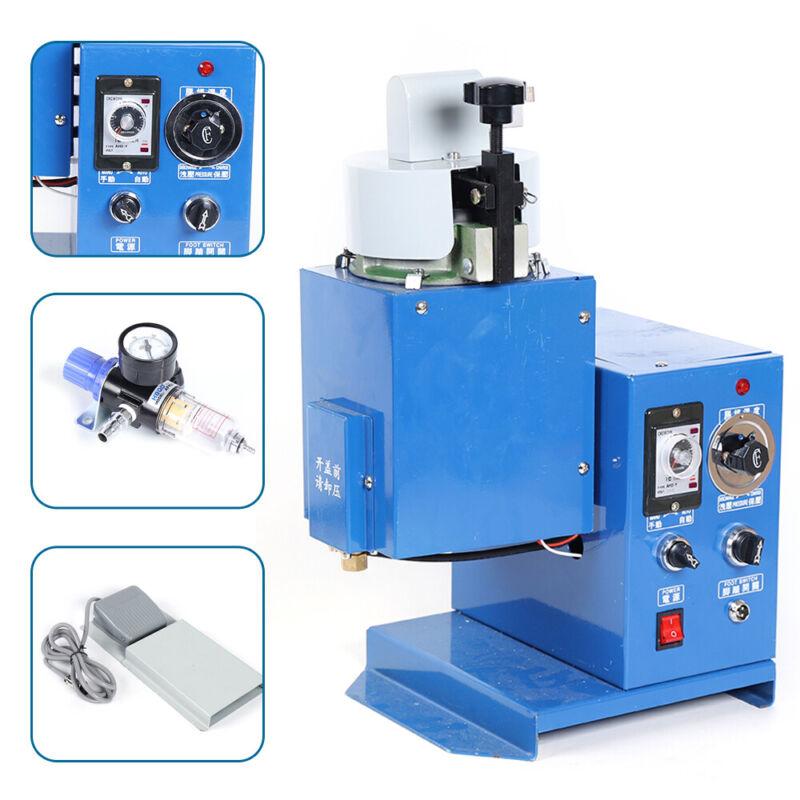 Adhesive Injecting Dispenser Hot Melt Glue Spraying Gluing Machine 110V (Used