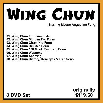 Augustine Fong's Mastering Wing Chun Series (8 DVD Set)