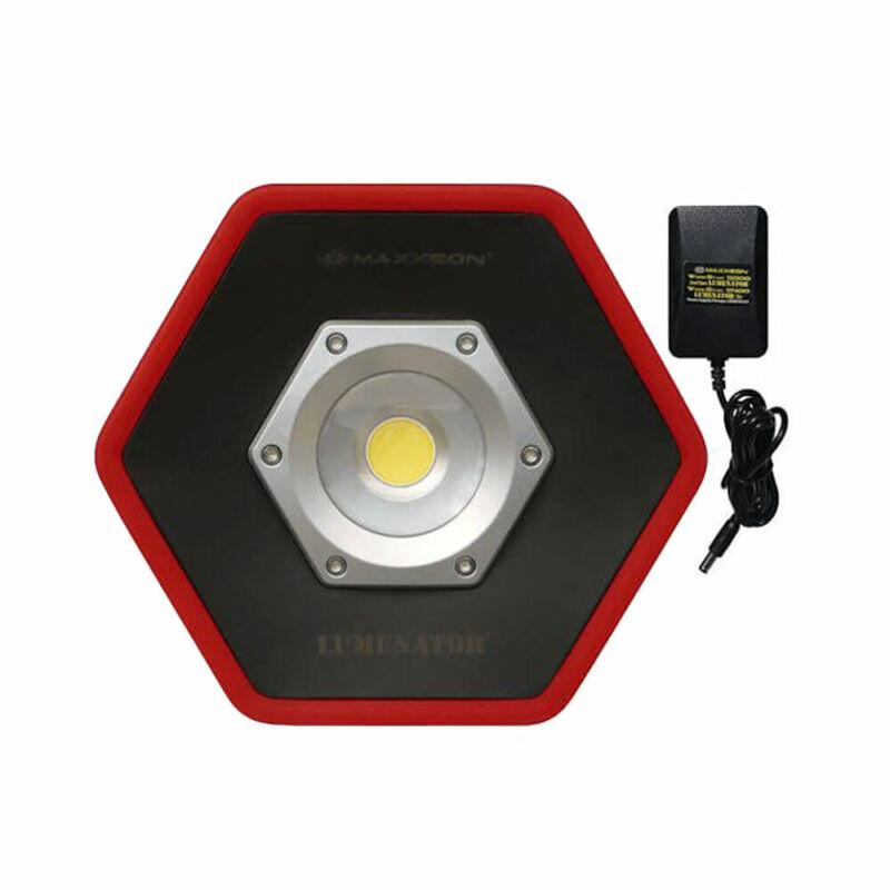 Maxxeon MXN05000 Workstar 5000 Lumenator Commercial Grade LED Work Light, Red