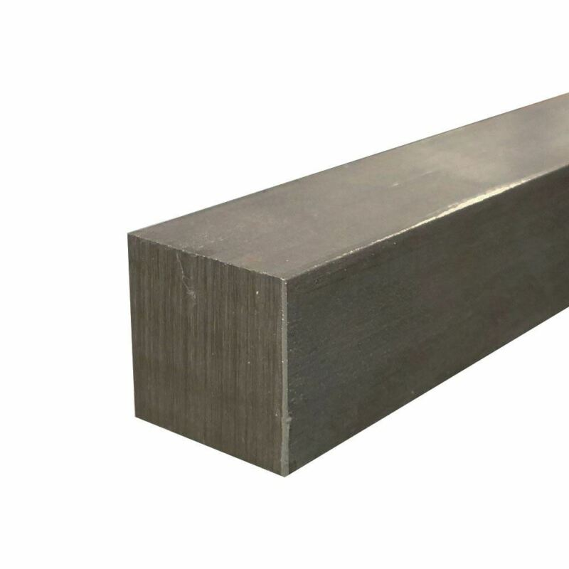 """1018 Cold Finished Steel Square Bar, 1/2"""" x 1/2"""" x 36"""""""