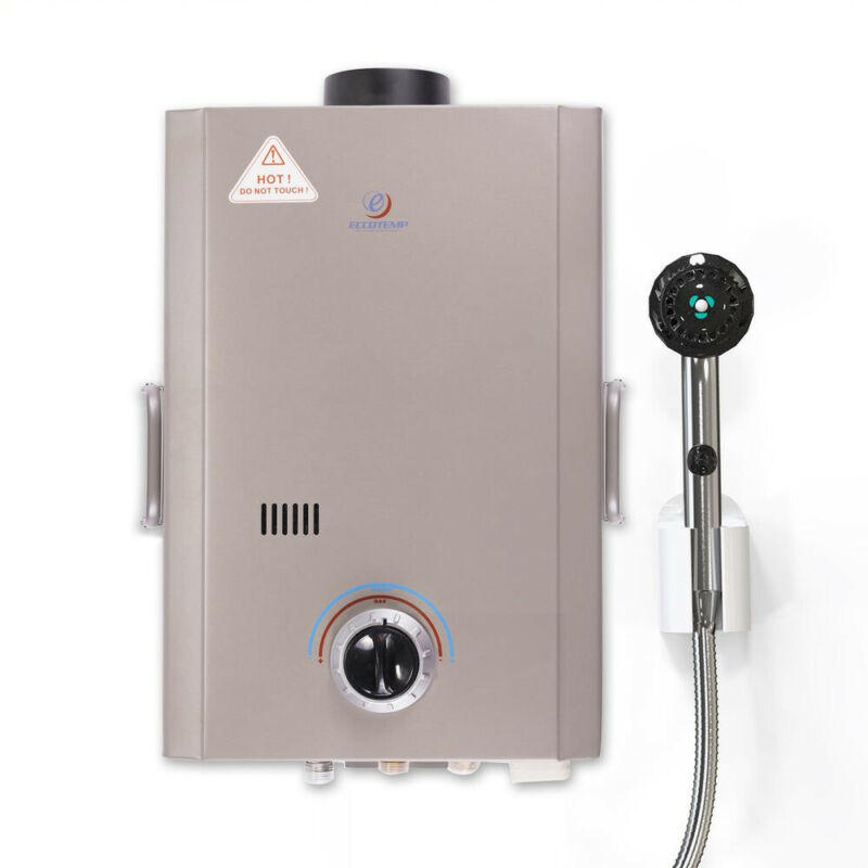 Eccotemp L7 Outdoor Camping Propane Powered Tankless Hot Water Heater(For Parts)