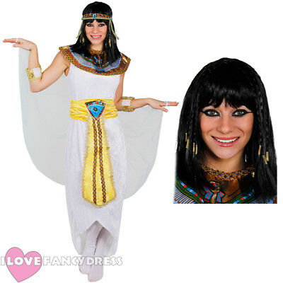 LADIES CLEOPATRA COSTUME QUEEN OF THE NILE ADULT EGYPTIAN FANCY DRESS CHARACTER  (Costume Of Cleopatra)