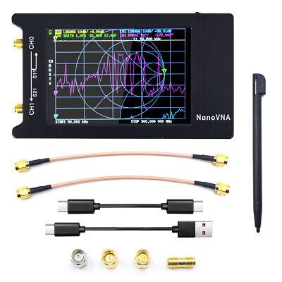 Tiny Antenna Analyzer Usb 4 Lcd Touch Screen W1950mah Battery 50khz-1.5ghz