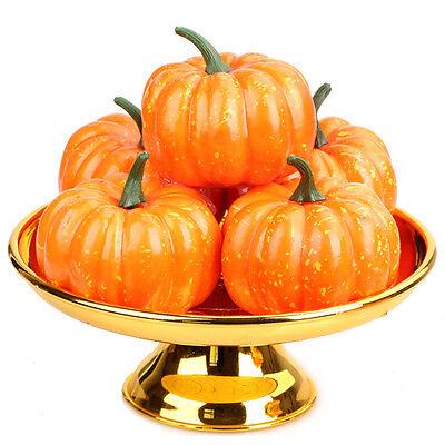 New Simulation Small Pumpkin Foam Mini Halloween Orange Pumpkin Decoration