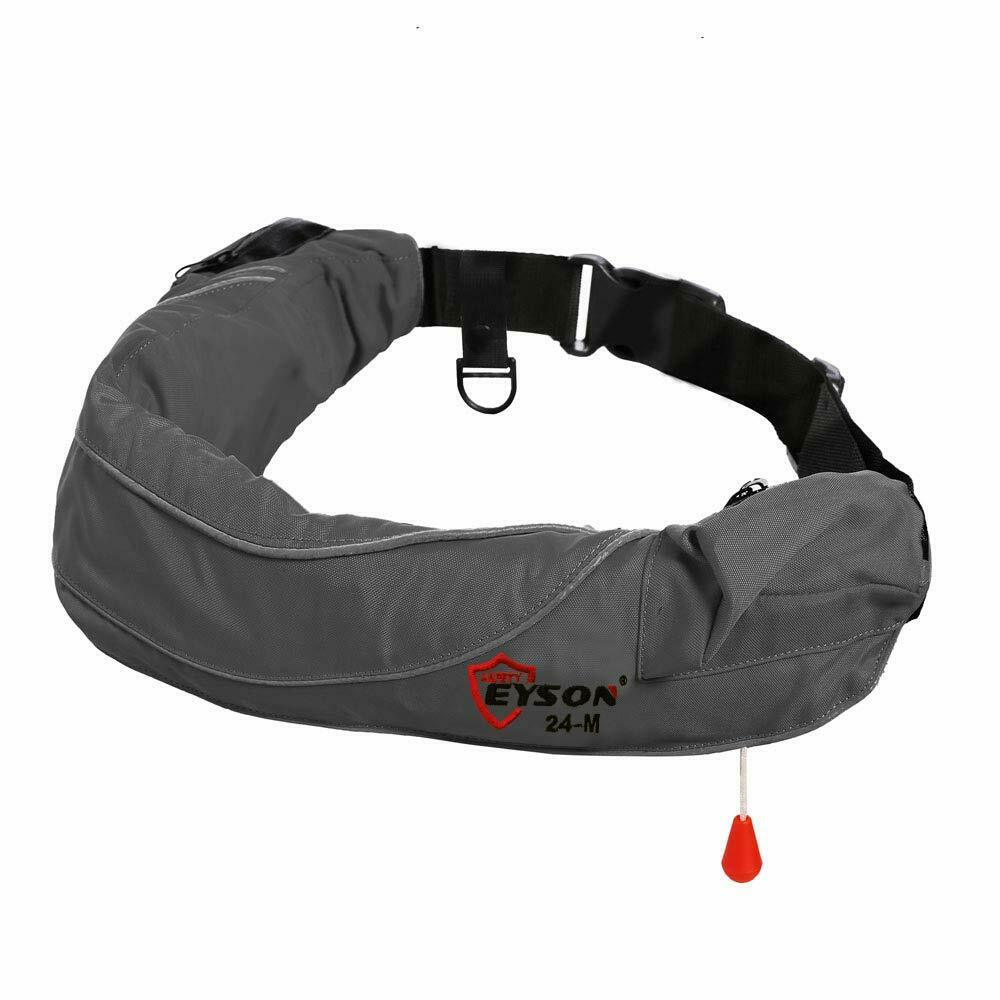 Eyson Inflatable Life Jacket Life Vest Life Ring Belt Pack W