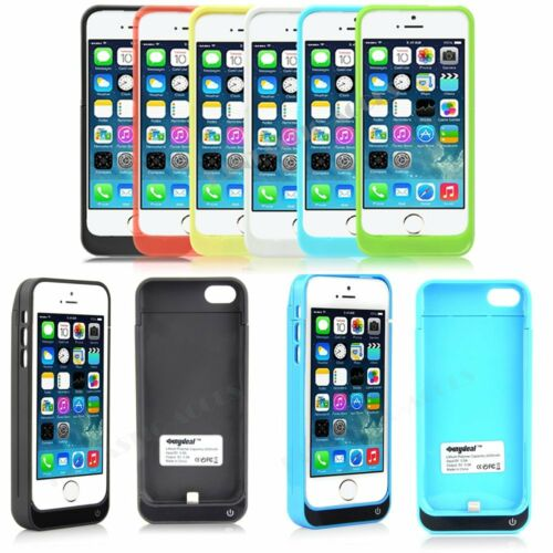 iPhone 5 5S 5C 4200mAh Portable External Power Bank Battery Charger Case Cover