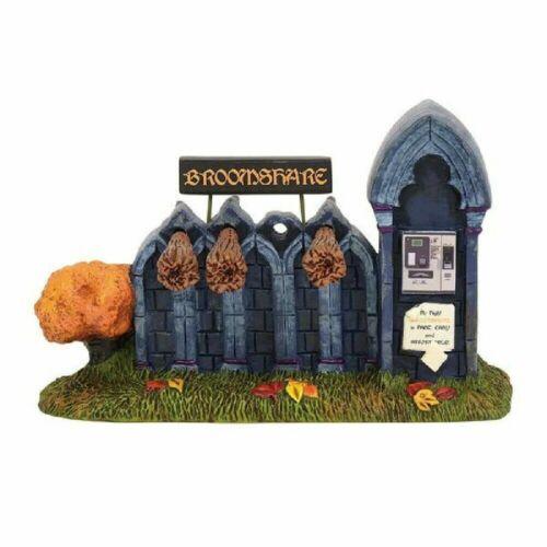 Dept 56 Halloween Village BROOMSHARE Accessory 6003228 DEALER STOCK-NEW IN BOX