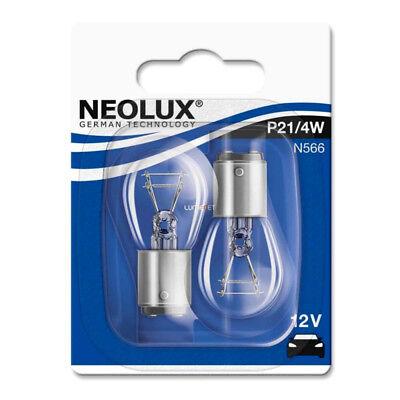 2x Neolux 12V 21/4W BAZ15d Zweifadenbirne Glühlampe Glühbirne Autolampe Birne O