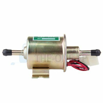 Electric Fuel Pump Inline Low Pressure Agricultural 12V Gas Diesel HEP-02A