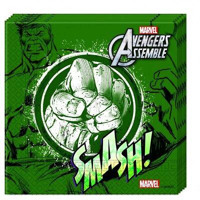 ge Papierservietten 33x33cm Hulk Neu & OVP (Teen Hulk)