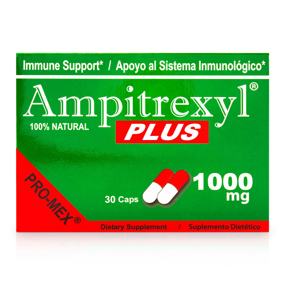 1 Ampitrexyl Plus. Boost Immune System. Natural Supplement 1000 mg, 30 Caps