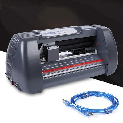 14 Vinyl Cutter Plotter Machine Paper Feed Sign Sticker Making Machine 350mm