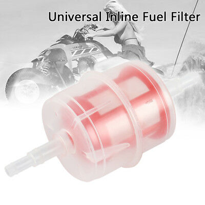 Universal Car Parts LARGE Inline Fuel Filter Auto DIESEL 6mm 8mm Pipe Hose