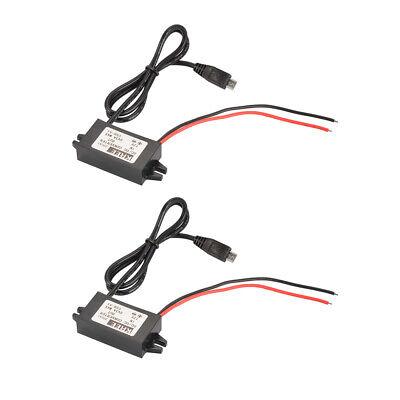 Dc-dc Converter Regulator 12v To 5v 3a Car Boat Micro Usb Power Supply Ma1211