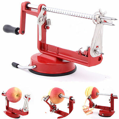 New Style 3 in 1 Apple Slinky Machine Peeler Fruit Cutter Slicer Kitchen Tool US