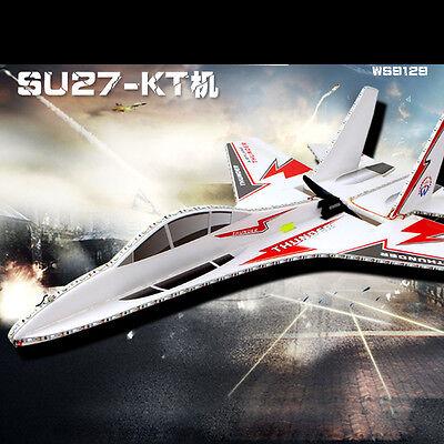 KT SU-27 Super Remote Control Airplane/Jet 6CH RC Quadcopter Foam Glider Kits Z