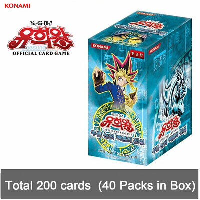 """Yu-Gi-Oh Cards """"Legend of Blue Eyes White Dragon"""" Booster Packs (200 cards)"""