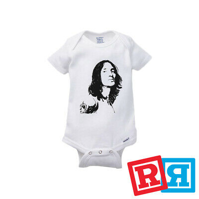 Red Hot Chili Peppers Baby Onesie (John Frusciante Red Hot Chili Peppers Rocker Onesie Unisex Gerber Organic)