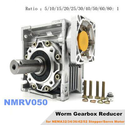 Nmrv050 Worm Gearbox Reducer Input 19mmspeed Reducer For Nema42 Stepper Motor