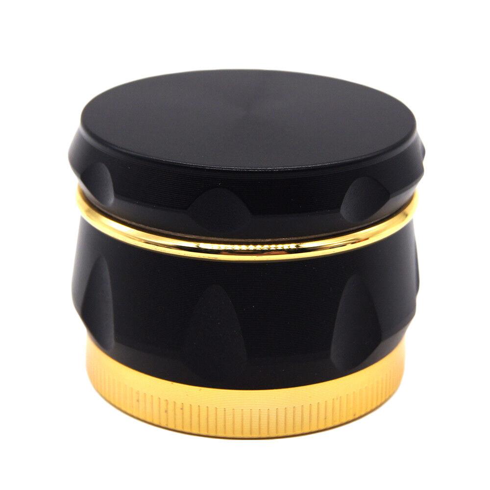 """1.6"""" 44 mm 4 Piece Grinder Herb Spice Crusher Drum Design"""