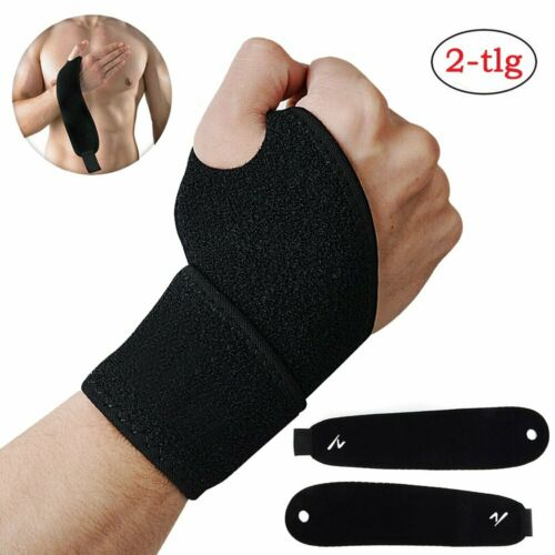 2x Daumenbandage Handbandage Daumenschiene Daumenschutz Handgelenk Sport Bandage