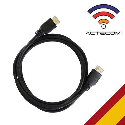 ACTECOM Cable Hdmi 1,5m Xbox 360 Ps3 PS4 Ordenador Plasma HDTV Conectores...