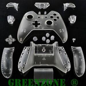 Greenzone ® Xbox One Custom Clear Controller Shell Mod Kit ...