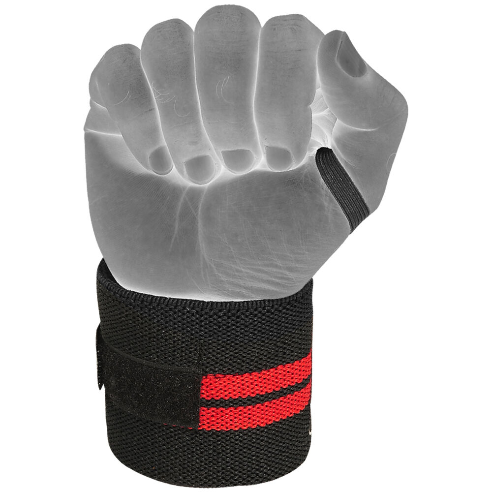 Weight Lifting Wrist Wraps Bandage Support Gloves Gym