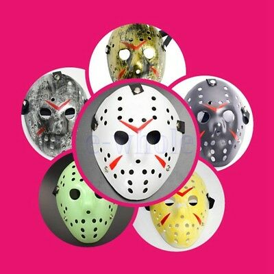 Halloween Jason Voorhees Maske Freitag der 13th Horror Film Hockey Kostüm GE