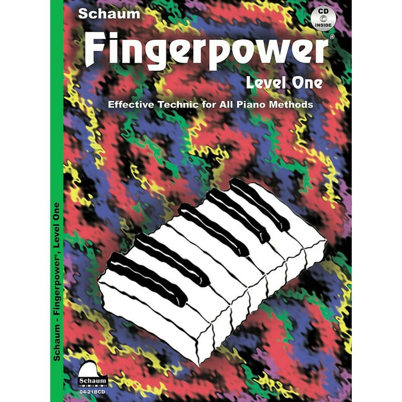 Fingerpower (Level 1 Book/CD Pack) Educational Piano with CD by John W. Schaum