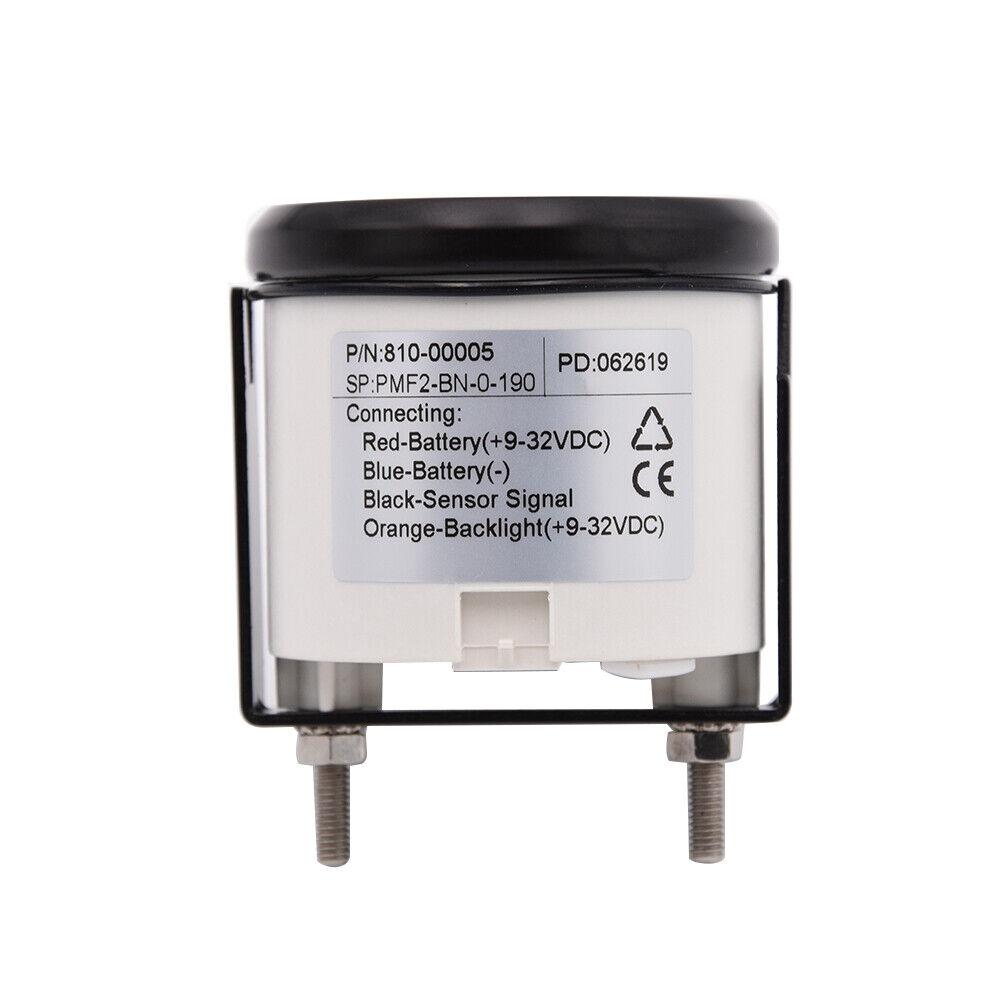 KUS Fuel gauge Meter indicatore livello dell olio 240-33OHM con retroilluminazione 12V//24V 52mm