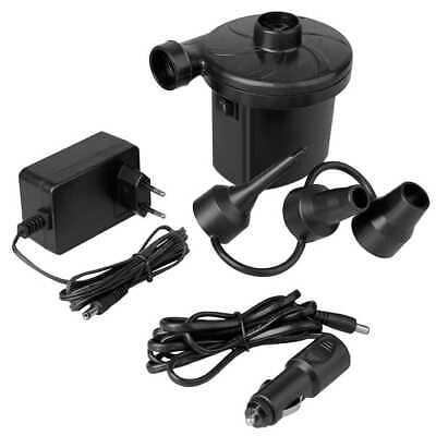 Bomba de Aire Electrica Mini Compresor Colchon Hinchable con 2 Fuentes AC...
