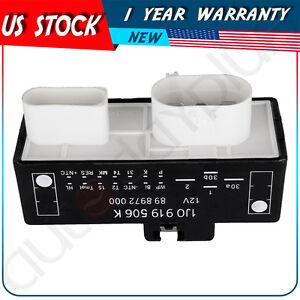 NEW COOLING FAN CONTROL UNIT MODULE RELAY 1J0919506K For 1999-2012 VW