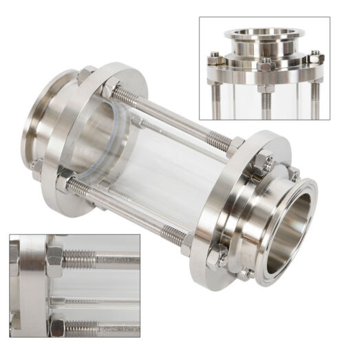 Stainless Steel 304 Flow Sanitary Sight Glass Tri Clamp Type 38/Φ Sanitary Glass
